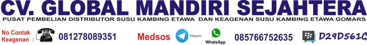 Distributor Susu Kambing Lampung