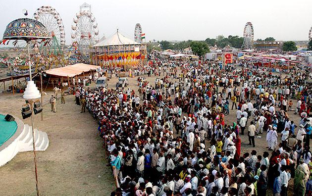 तर्नेटर मेला 24 से 27 अगस्त, 2018 गुजरात के सुरेंद्रनगर जिले में थांगध के पास, तर्नेटर गांव।