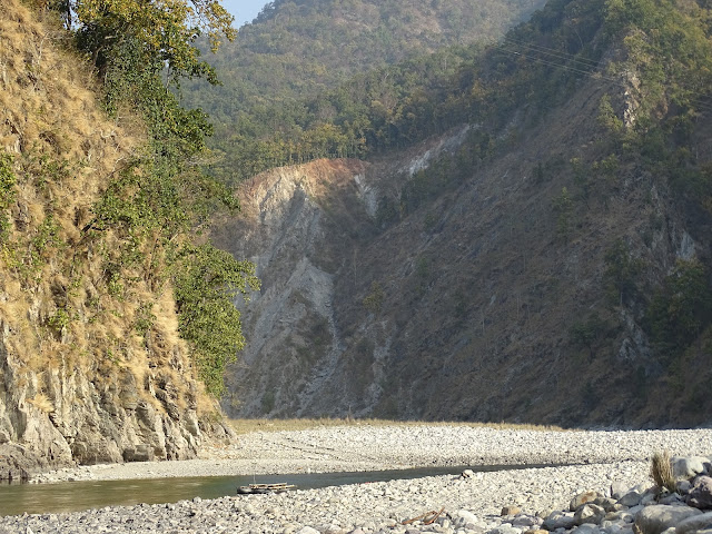 Ramganga River in Marchula