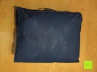 Beutel Rückseite: Hygiene Steppbett 135x200cm Sanitized 100% Polyester Bettdecke Mikrofaser Weiß