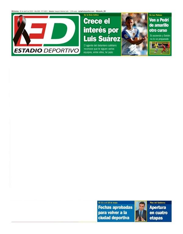 "Betis, Estadio Deportivo: ""Ven a Pedri de amarillo otro curso"""