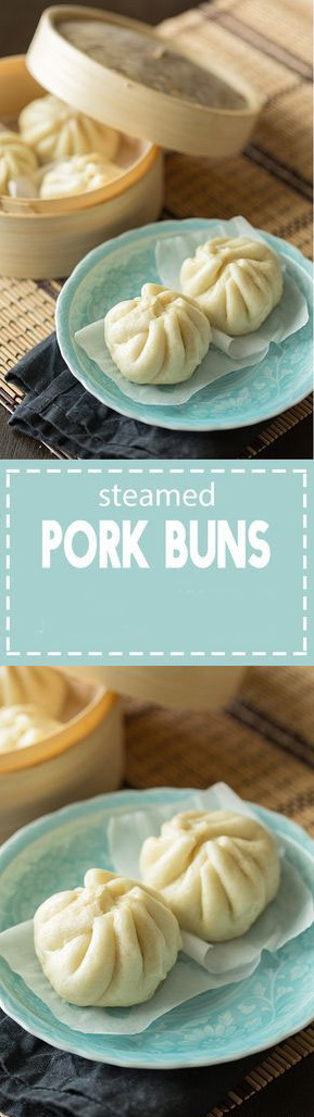 Steamed Pork Buns (Nikuman)