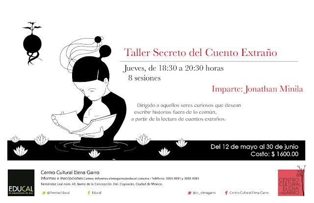 Cursos de apreciación artística en el Centro Cultural Elena Garro