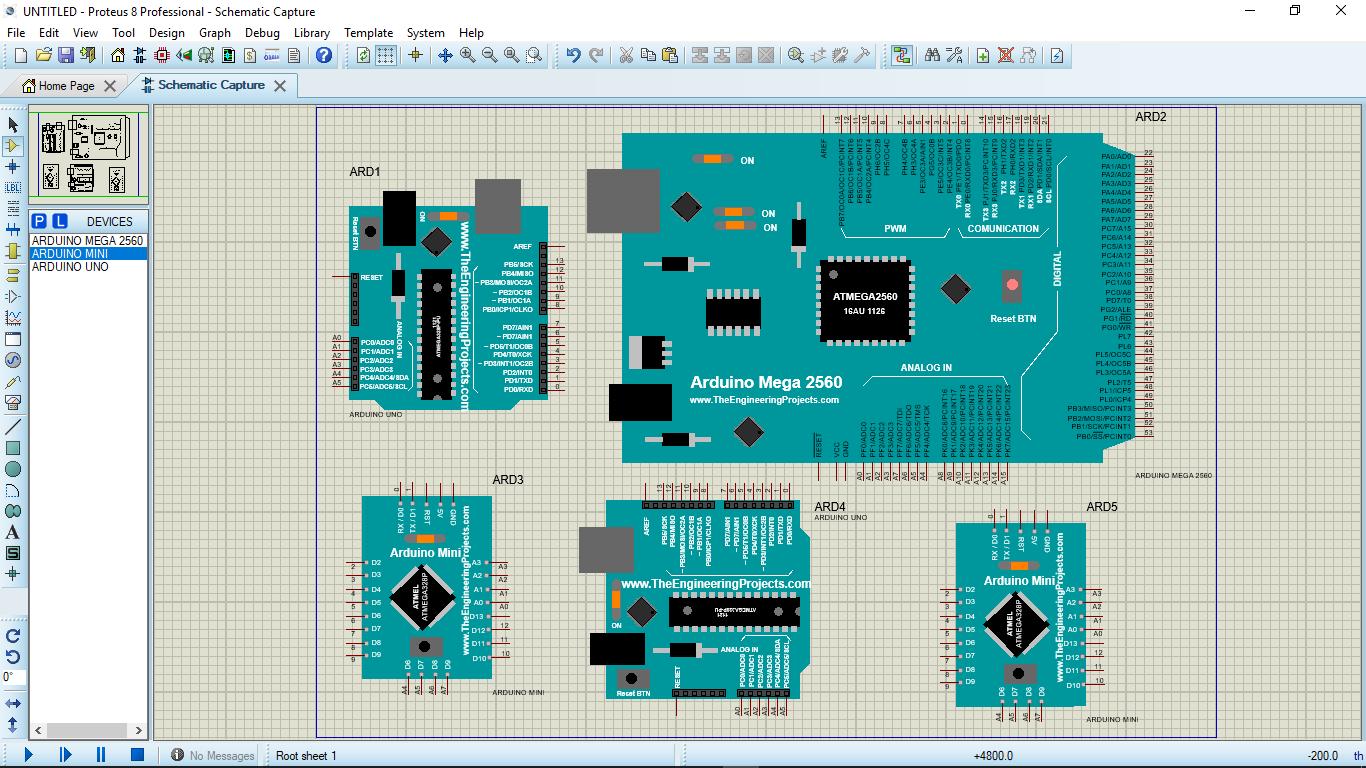 Proteus full arduino library mz