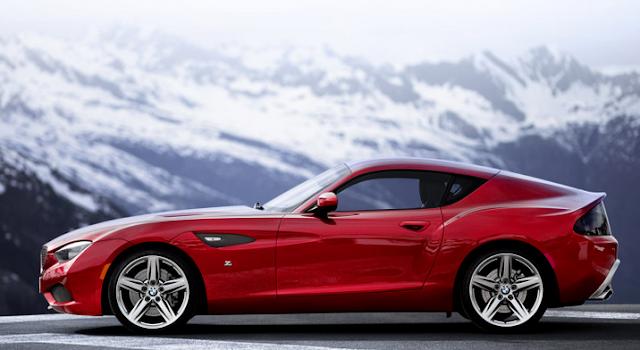 2017 BMW Zagato Roadster  Concept