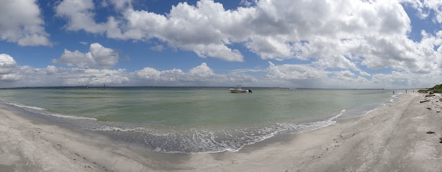 Strand von Egmont Key, Florida USA