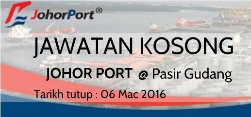 Jawatan Kosong Johor Port Berhad 2016 Terkini
