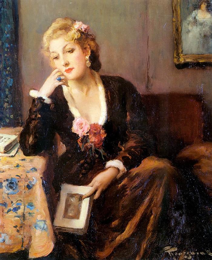 Fernand Toussaint 1873-1956   Belgian Post-Impressionist painter