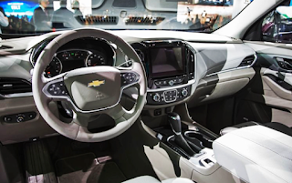 2019 Chevrolet Traverse LS Interior
