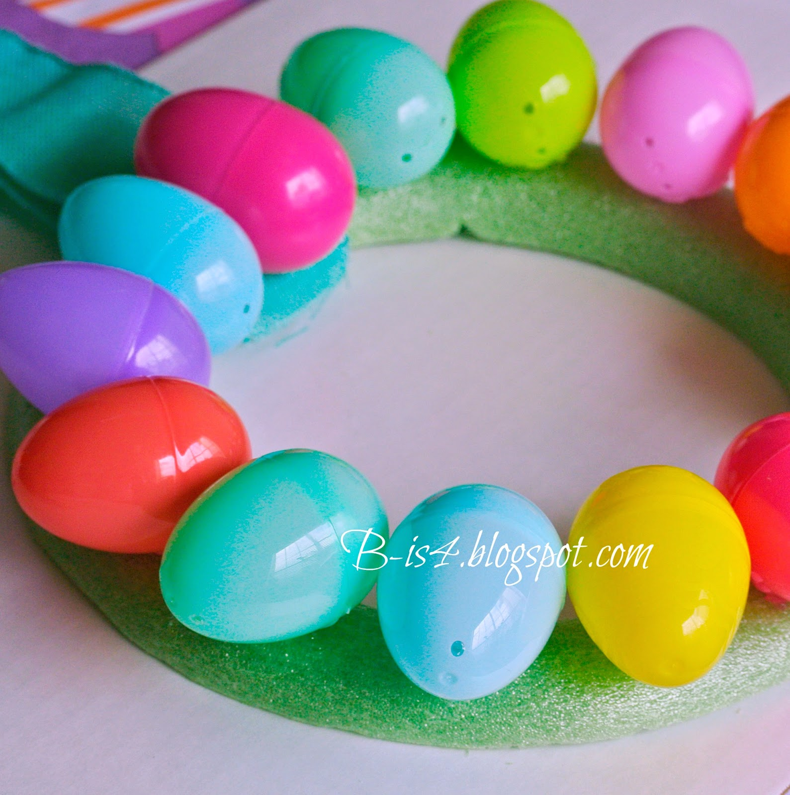 Crafts, Plastic Eggs, Dollar Tree