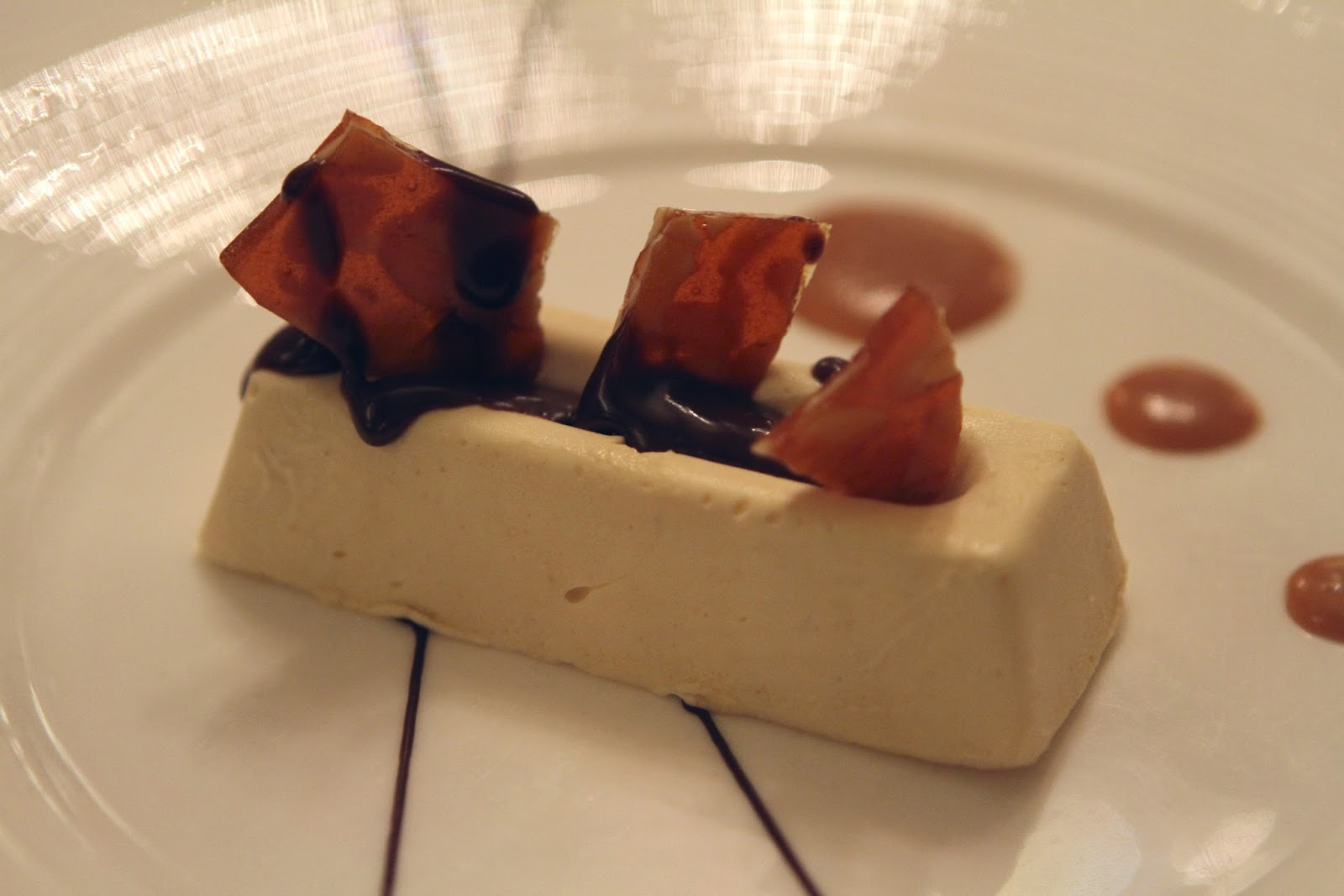 The Savoy grill Peanut butter parfait