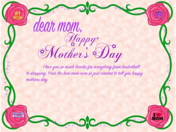 Mother day 2017 greeting cards printable homemade