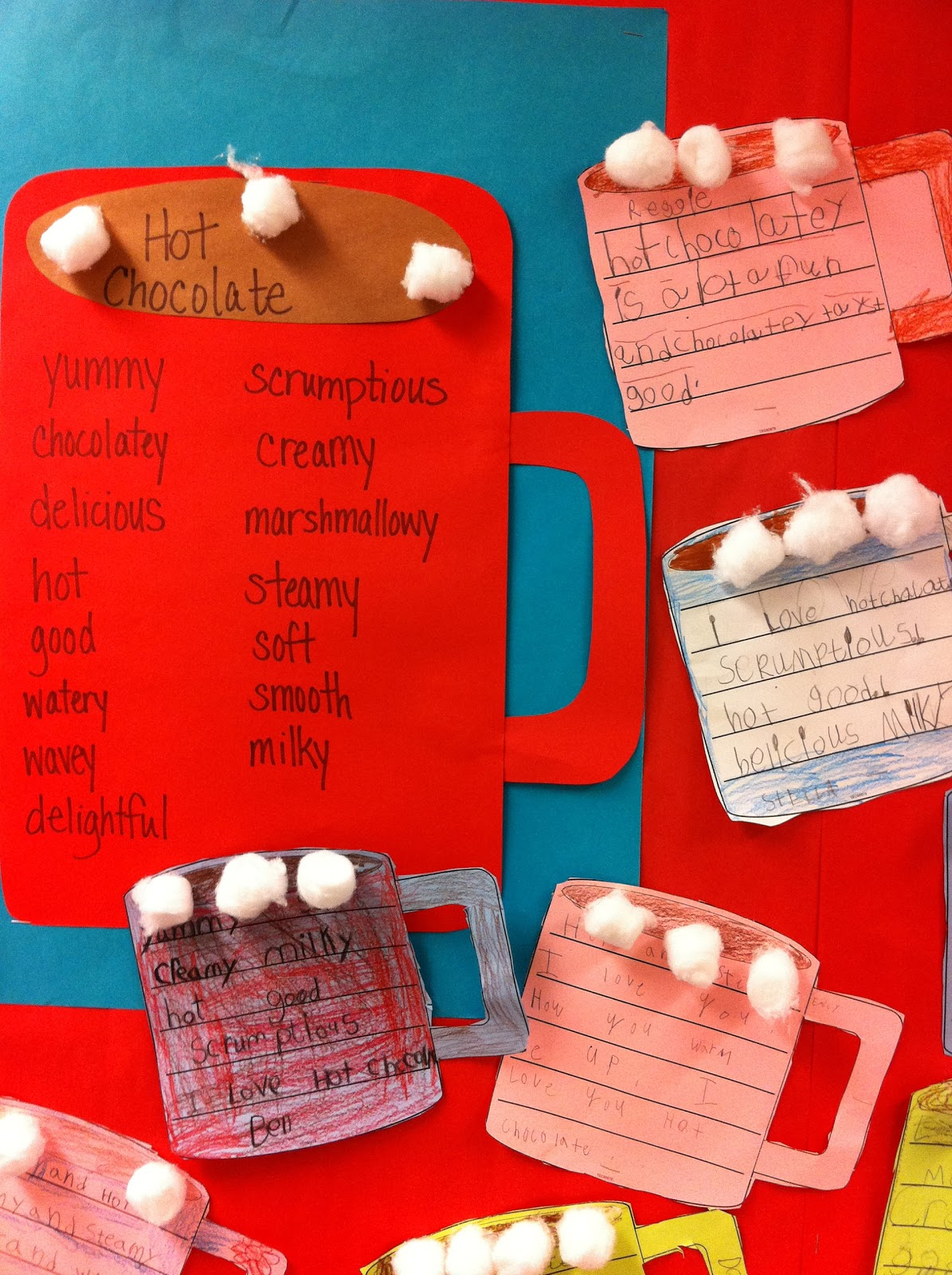 F Is For First Grade Fun Hot Chocolate Poems