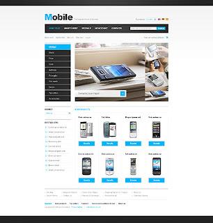 Mobileshop-Phone Template (CSS)