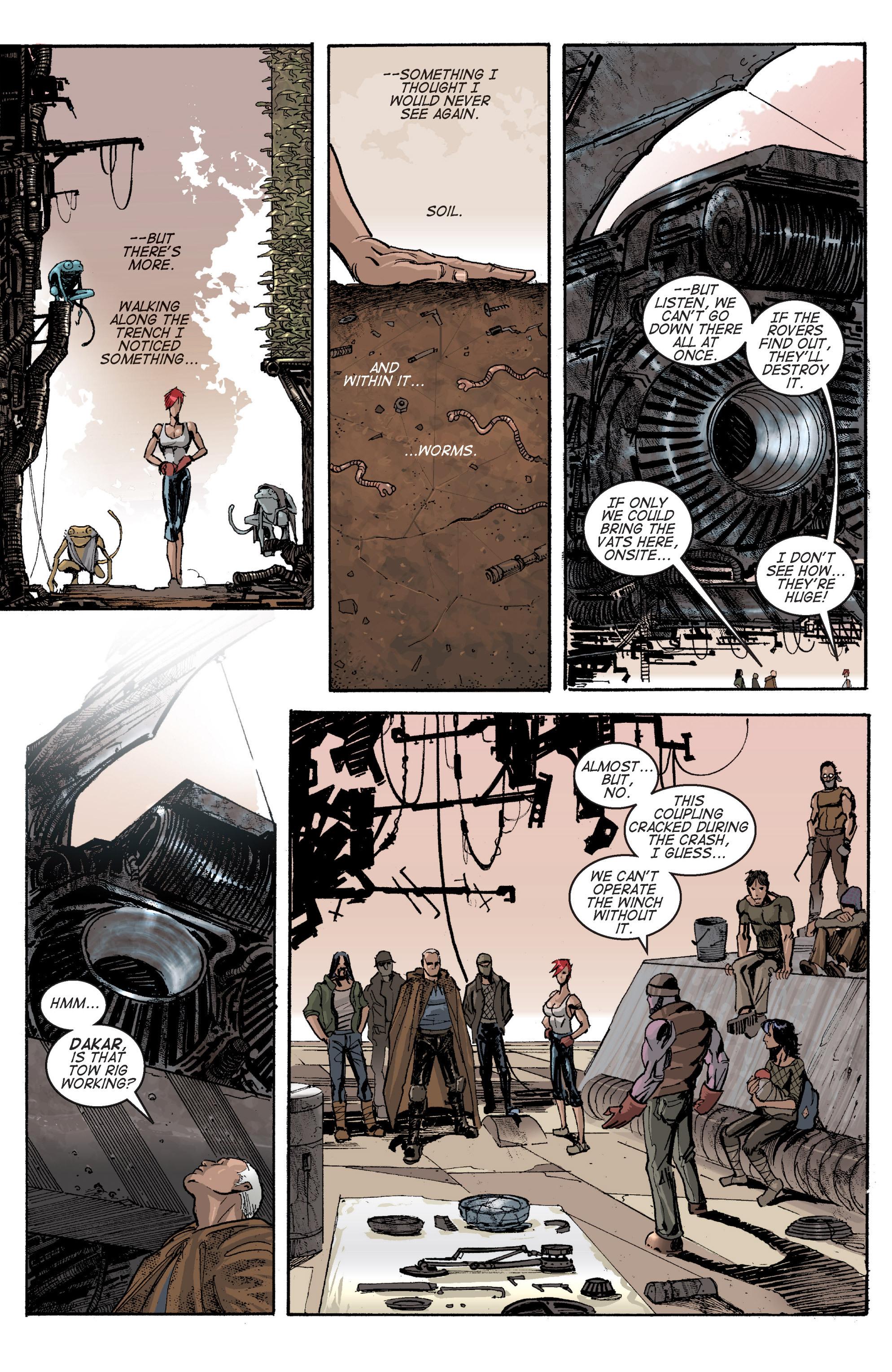 Read online Planetoid comic -  Issue # TPB - 86