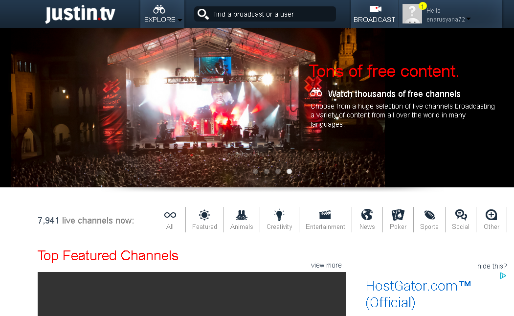 Kemajuan dunia internet menunjukkan aneka macam fasilitas Cara Praktis dan Cepat Membuat TV Online