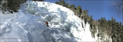 ice climbing, winter, arethusa falls