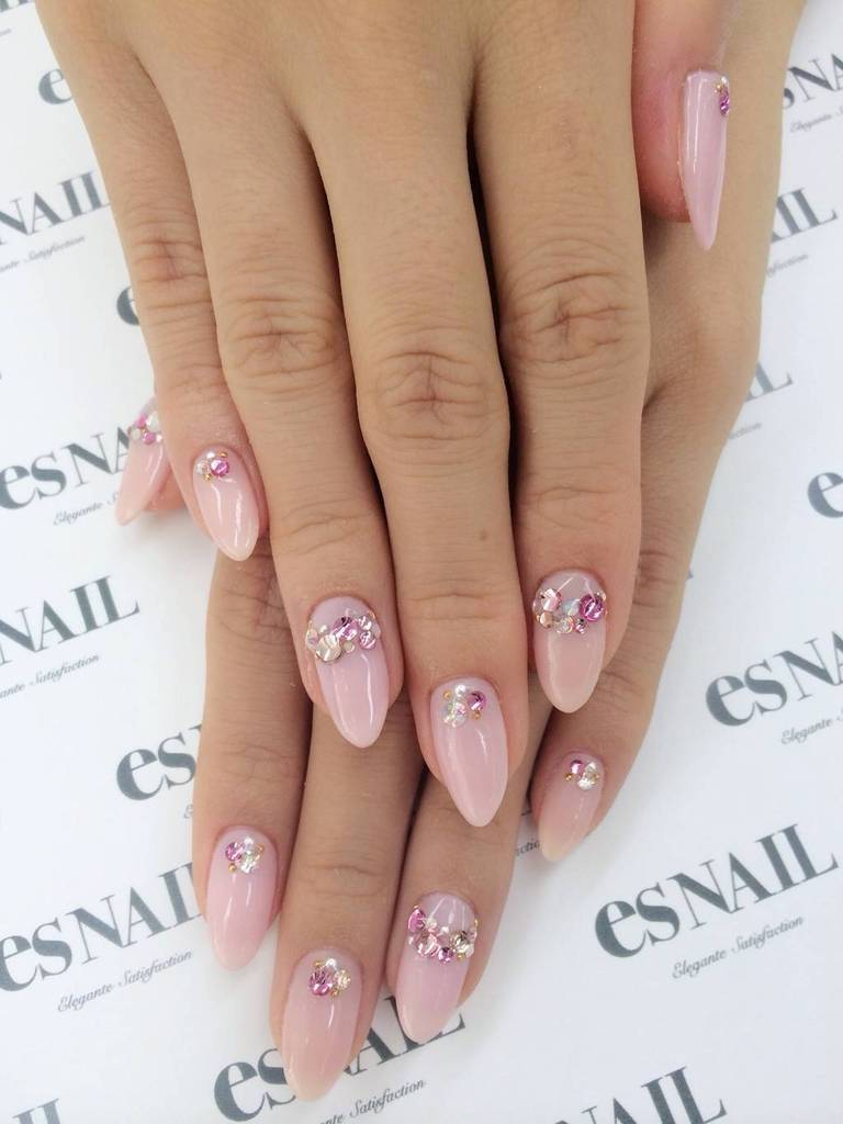 simple gyaru nails
