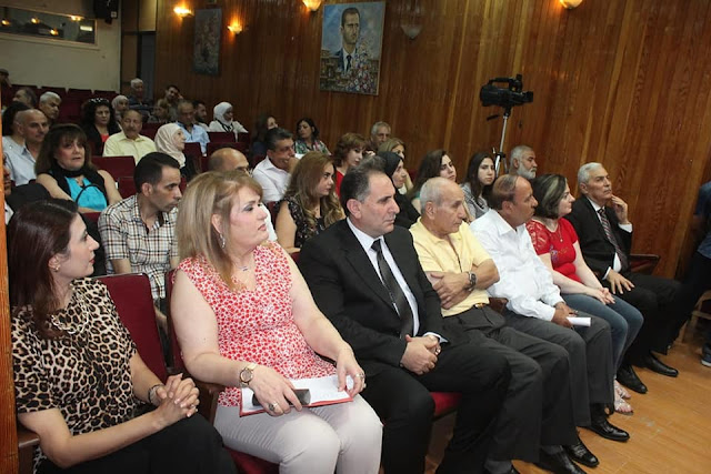 معا نحو الانتصار في مهرجان فرع ادلب لاتحاد الكتاب العرب في سورية
