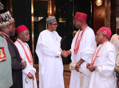 Buhari's 2nd Term Bid Endorsed By Over 200 Igbo Monarchs