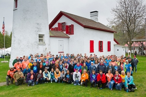 Showcasing the Michigan DNR: Travel and tourism pros help renovate Sturgeon Point Lighthouse