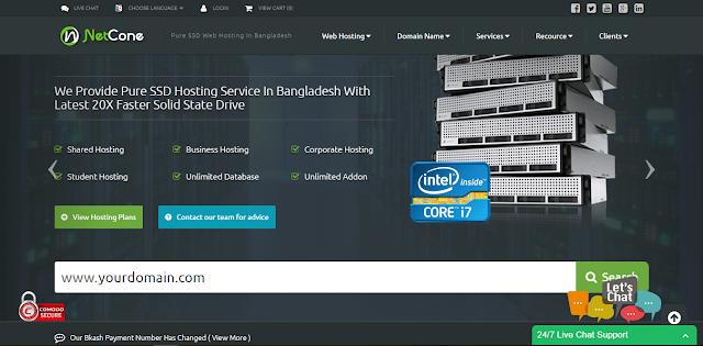 High Performance Web Hosting, Domain Name & SSL Certificate   NetCone