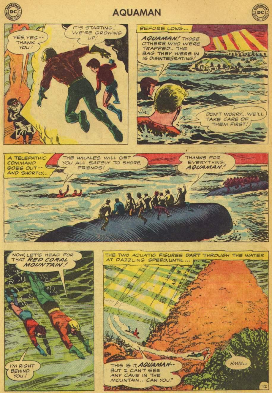 Read online Aquaman (1962) comic -  Issue #5 - 16