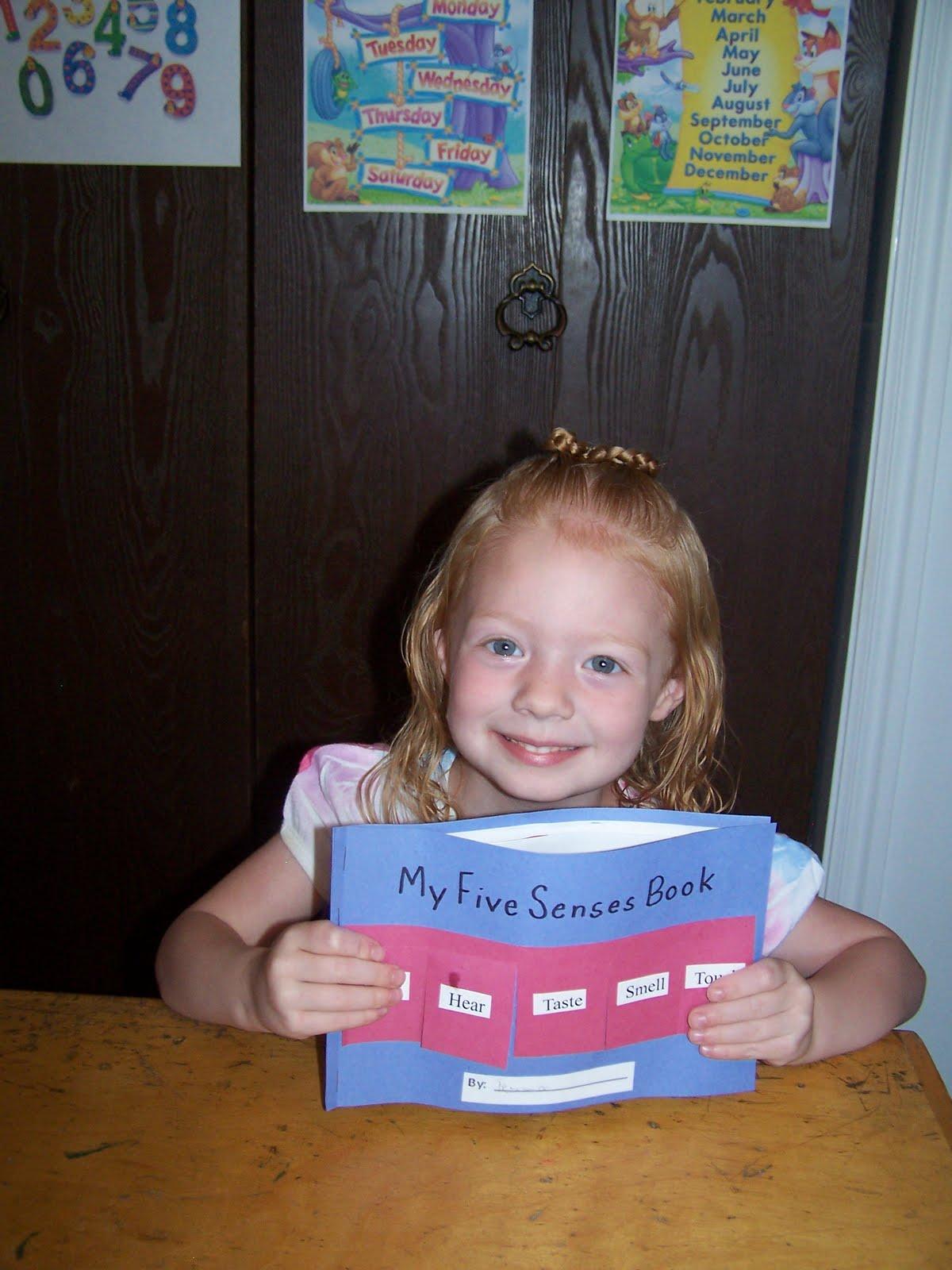 Adventures In Home Pre Schooling The 5 Senses