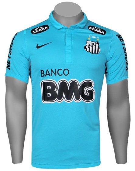 7caa7a1e09 Santos apresenta sua terceira camisa para o centenário - Show de Camisas