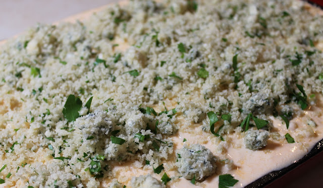 The Blue Cheese and Panko Topping