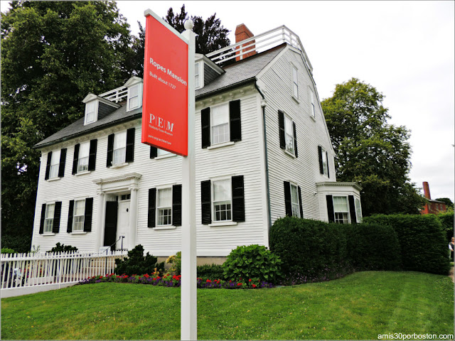 Salem Histórico: Ropes Mansion