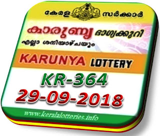 Live kerala lottery result karunya kr 364 from keralalotteries.info 29/8/2018, kerala lottery result karunya-364 29 July 2018, kerala lottery results 29-09-2018, official karunya result by 4 pm KARUNYA lottery KR 364 results 29-09-2018, KARUNYA lottery KR 364, live KARUNYA   lottery KR-364, KARUNYA lottery, kerala lottery today result KARUNYA, KARUNYA lottery (KR-364) 29/09/2018, KR 364, KR 364, KARUNYA lottery KR364, KARUNYA lottery 29.8.2018,