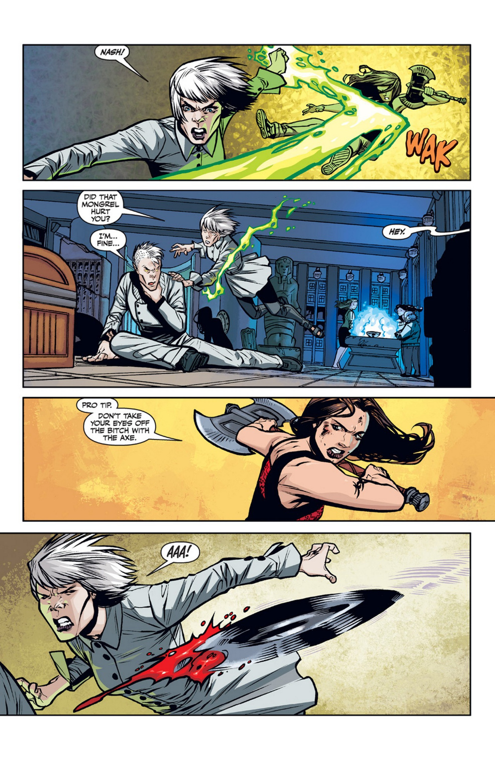 Read online Angel and Faith comic -  Issue #21 - 22
