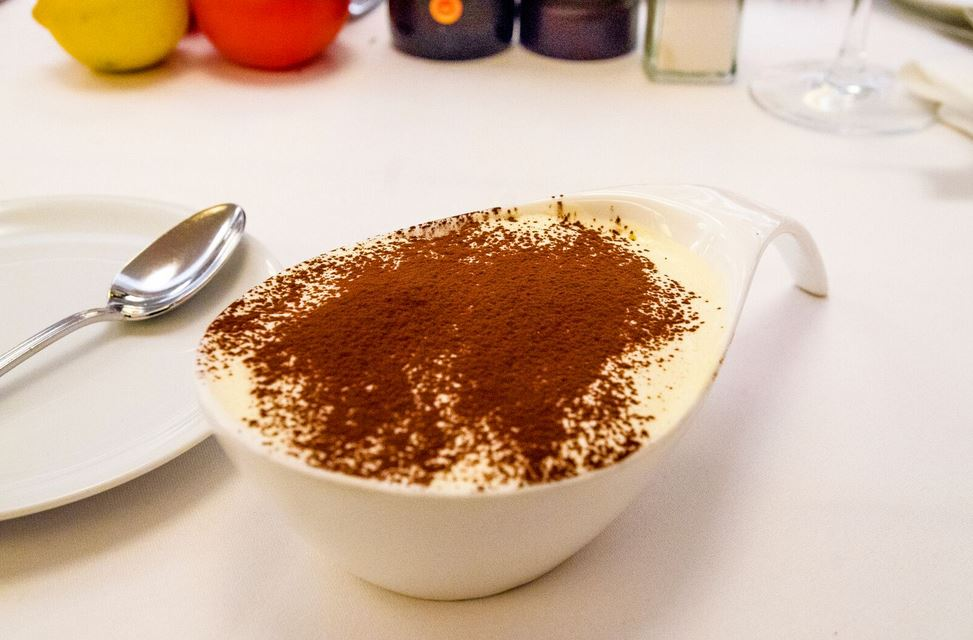 Tiramisu at Mamo Restaurant in New York Restaurant Week 2017. Review at New York For Beginners