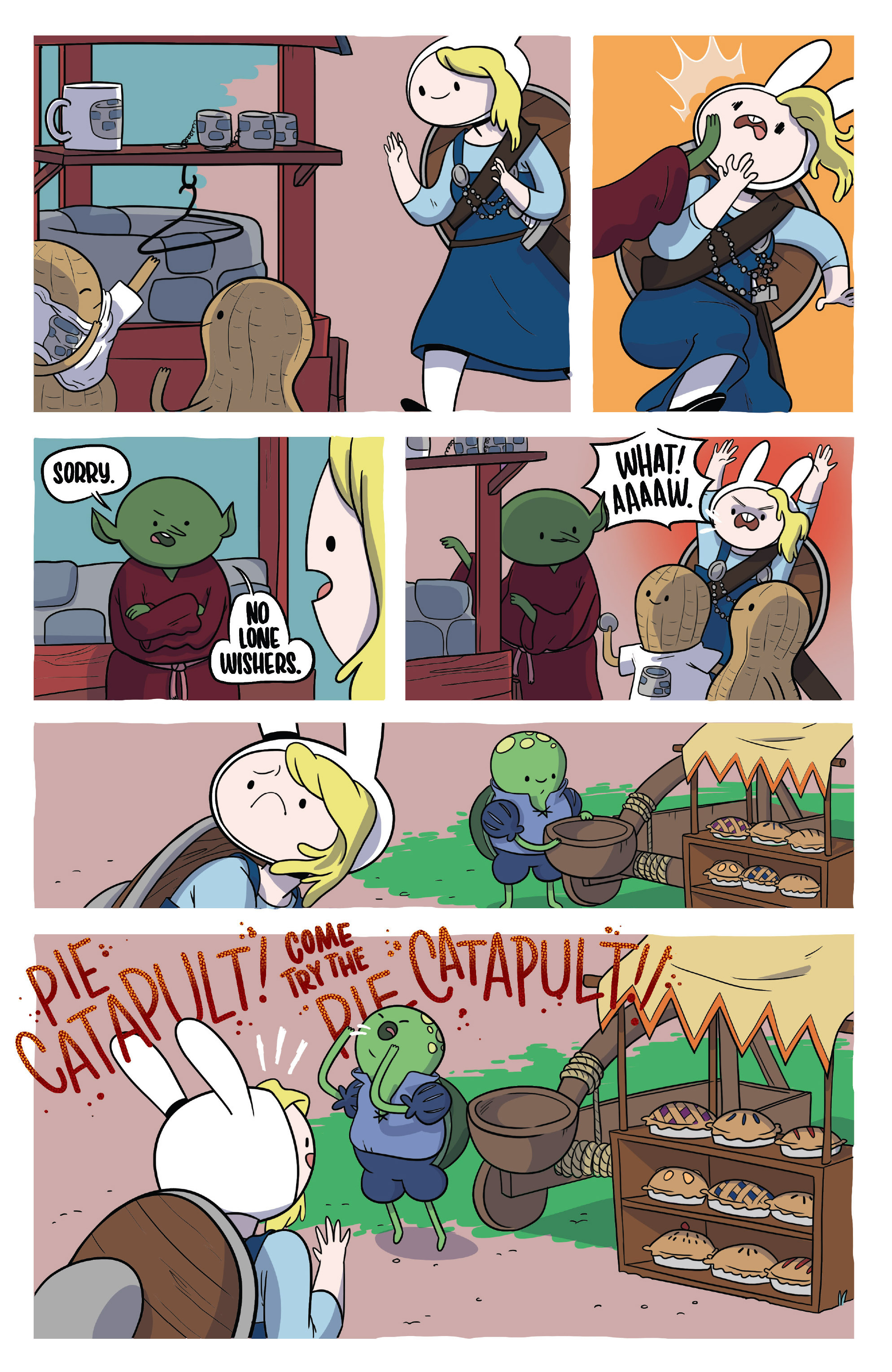 Read online Adventure Time Fionna and Cake Card Wars comic -  Issue #3 - 14