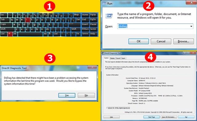 2 Cara Mudah Mengetahui Spesifikasi (RAM, VGA dan Prosesor) Laptop Komputer