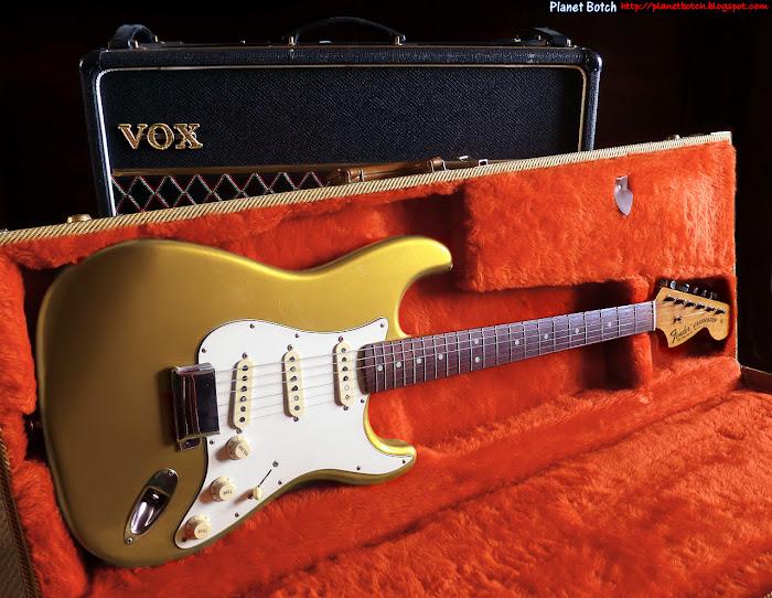 Early 1970s Firemist Gold Fender Stratocaster