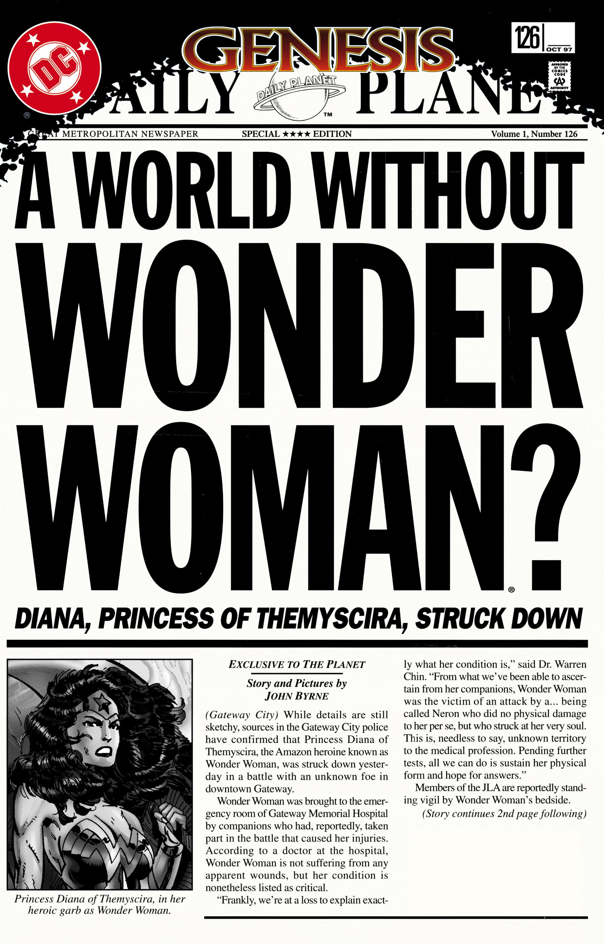 Read online Wonder Woman (1987) comic -  Issue #126 - 1