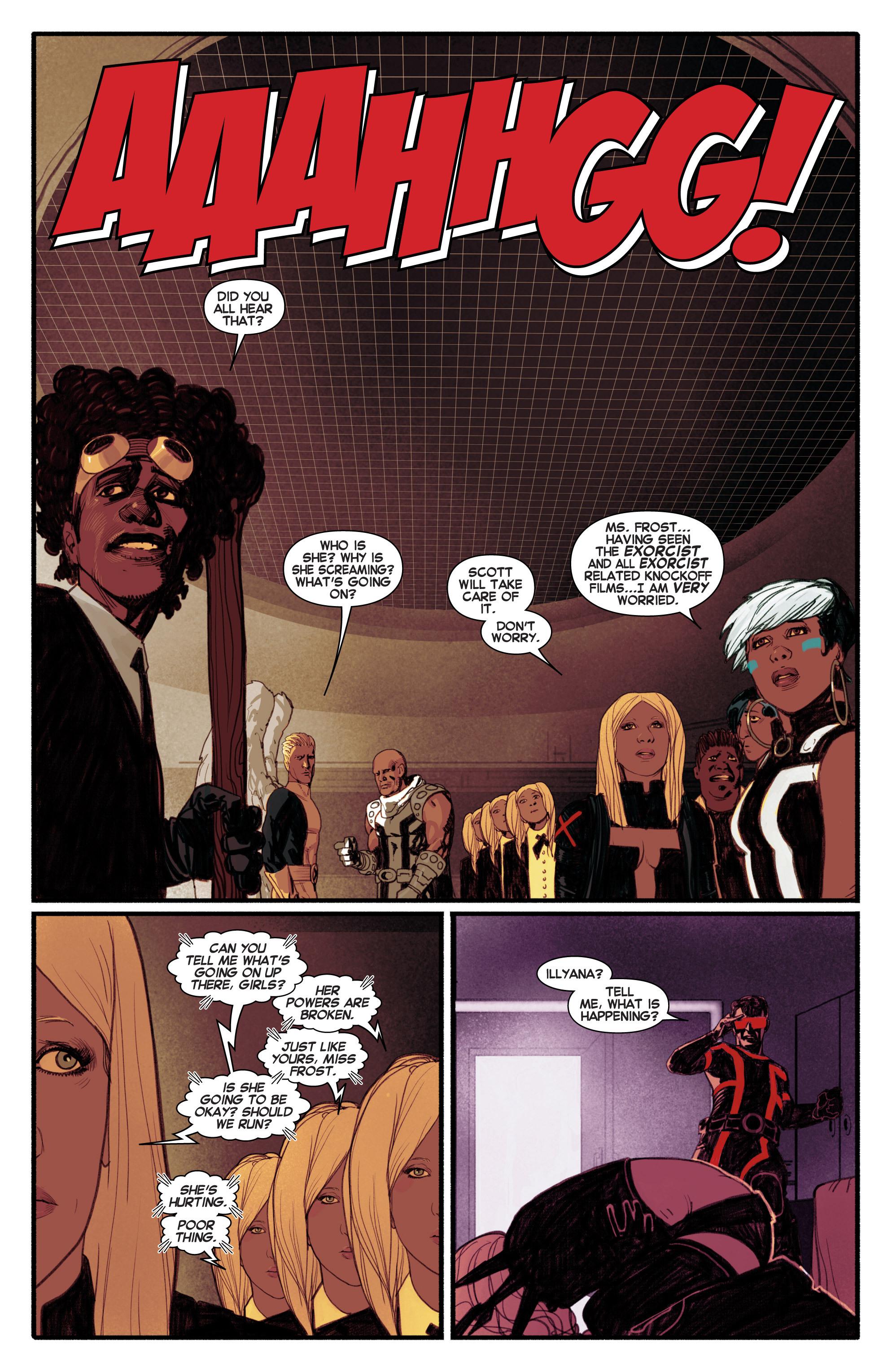 Read online Uncanny X-Men (2013) comic -  Issue #5 - 15