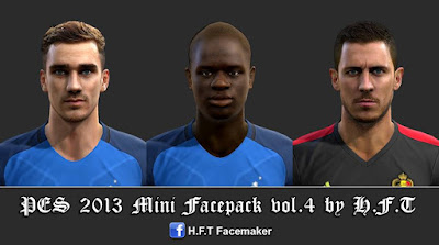 PES 2013 Mini Facepack vol.4 by H.F.T