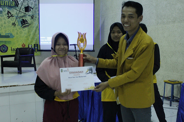 Asya Nur Isa Maharani Pemenang Juara II Literasi