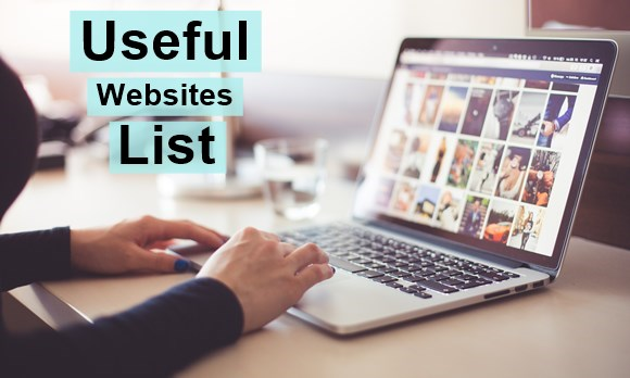 Useful Websites List, Important site, best website list