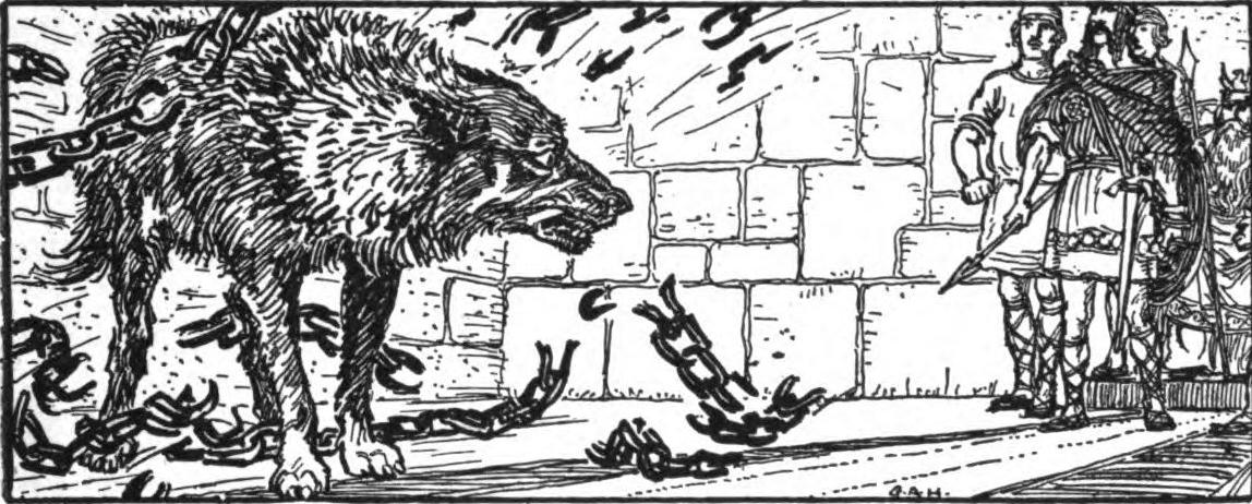 The Norse Mythology Blog Norsemyth Tyr And The Wolf In
