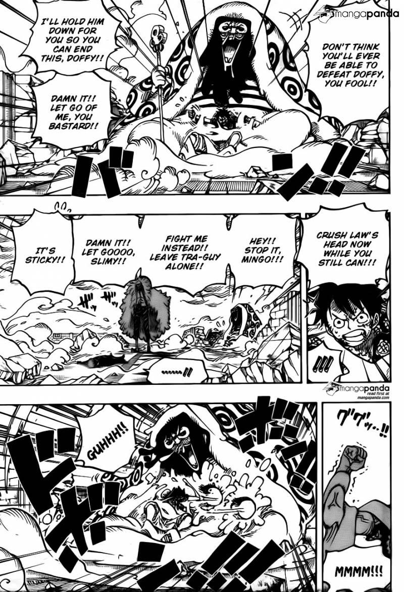 One Piece Ch 782: Evils Charisma