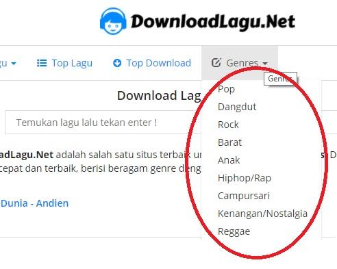 Situs Download Lagu Terbaik dan Lengkap Downloadlagu.net