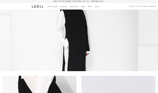 Fashion Brand Minimal Modern Shop