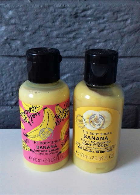 The body shop banana odżywka do włosów