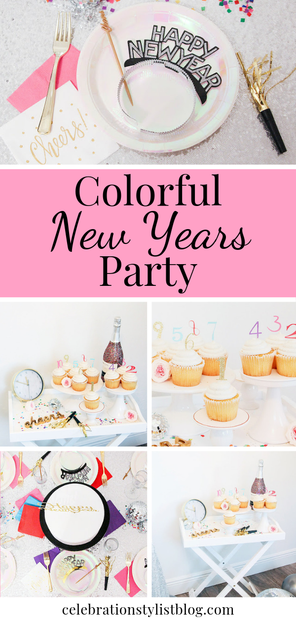 Colorful New Years Party by The Celebration Stylist