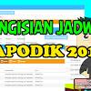 Panduan Pengisian Jadwal di DAPODIK 2018