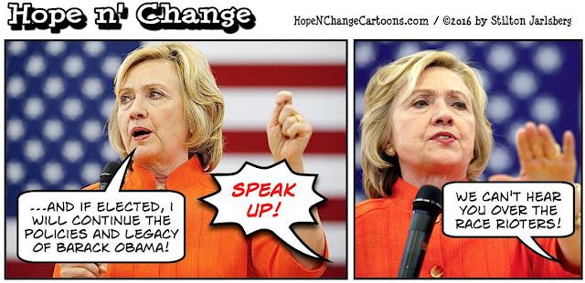 obama, obama jokes, political, humor, cartoon, conservative, hope n' change, hope and change, stilton jarlsberg, hillary, black vote, north carolina, riots